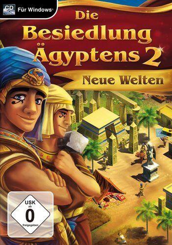 Die Besiedlung Ägyptens 2 - Neue Welten - PC Game - *NEU*