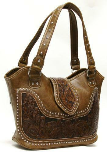 Leather Western Purses Ebay