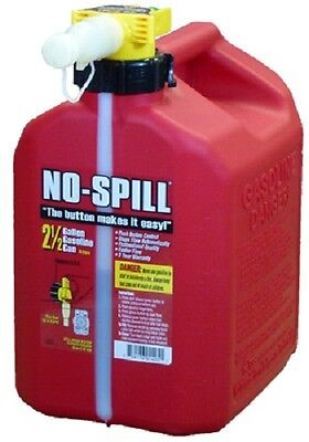 No Spill 1405 2-12 Gallon Carb Compliant Gas Gasoline Fuel Can