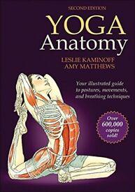 4 Yoga and Human Anatomy Books --- BRAND NEW