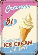 Ice Cream Tin
