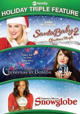 Santa Baby 2: Christmas Maybe/Christmas in Boston/Snowglobe (DVD, - Baby Santa