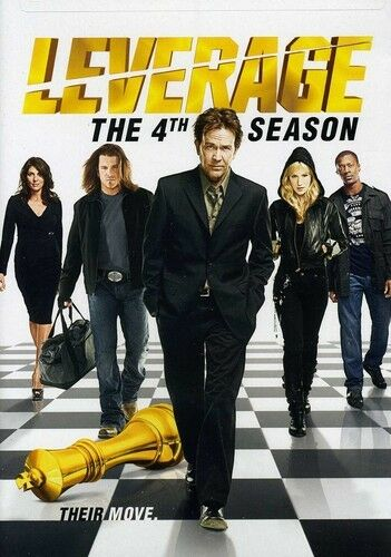 Leverage: The 4th Season [4 Discs] DVD Region 1