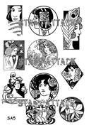 Art Nouveau Stamp