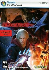 Capcom Devil May Cry 4 PC DVD - Brand New and Sealed