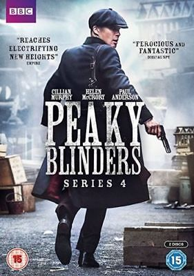 PEAKY BLINDERS series/season 4 Region 2 New DVD Fast Dispatch