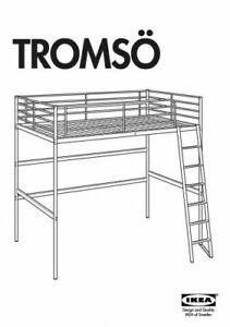 IKEA BUNK BED, LIKE NEW. EASY TO ASSEMBLE