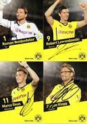 Borussia Dortmund Autogramme