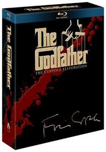 The Godfather Trilogy (Restored) [Blu-ray]