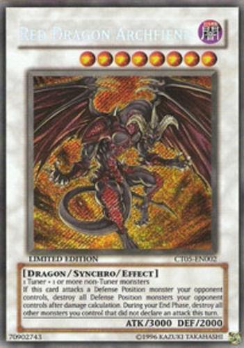 red dragon archfiend secret rare ebay