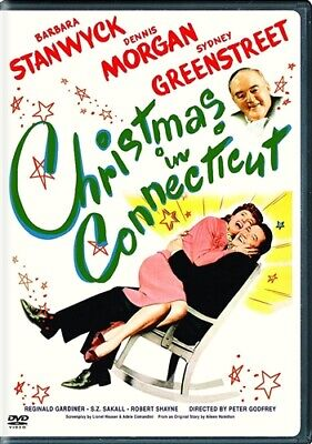 CHRISTMAS IN CONNECTICUT New Sealed DVD 1945 Barbara Stanwyck