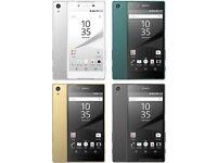 sony xperia z1/z2/z3/z4/z5/XA smartphone series unlock, uk spec