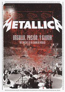 METALLICA ORGULLO PASION Y GLORIA LIVE IN MEXICO BRAND NEW SEALED DVD