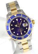 Rolex Blue Dial