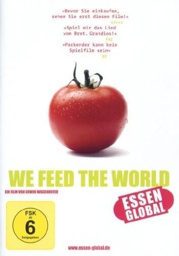 WE FEED THE WORLD - ESSEN GLOBAL DVD DOKUMENTATION NEU