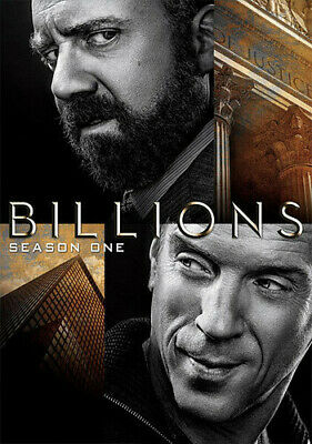 Billions: Season One [New DVD] Boxed Set, Dolby, Subtitled, Widescreen