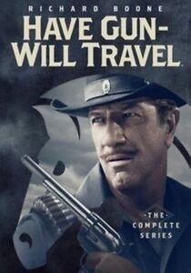 HAVE GUN WILL TRAVEL - THE COMPLETE SERIES  - DVD - Region 1 Sealed