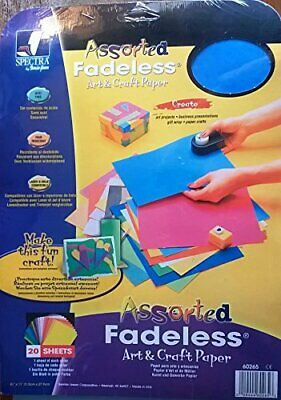 Assorted Fadeless Art & Craft Paper (20 - Fadeless Paper