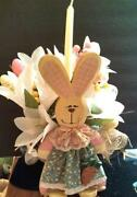 Wooden Easter Basket