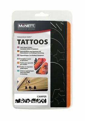 McNett Tenacious Tape Camper Tattoos Repair Patches Clothes Gear & Equipment