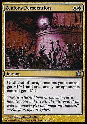 1X Zealous Persecution Alara Reborn Mtg Magic Gold Uncommon 1 X1 Card Cards