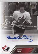 Bobby Orr Autograph