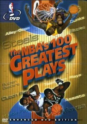 The NBA's 100 Greatest Plays (DVD) NEW