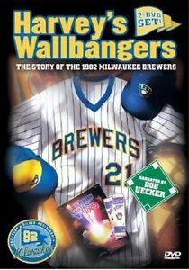 HARVEY'S WALLBANGERS STORY OF THE 1982 BREWERS DVD New