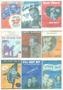 Sheet Music Movie Lot