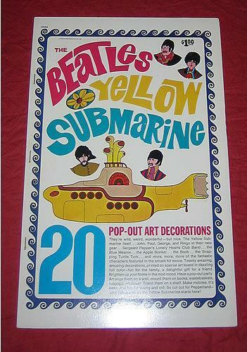beatles yellow submarine book ebay. Black Bedroom Furniture Sets. Home Design Ideas