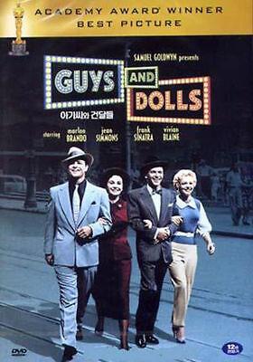 Guys and Dolls (1955) Marlon Brando, Frank Sinatra DVD *NEW ()