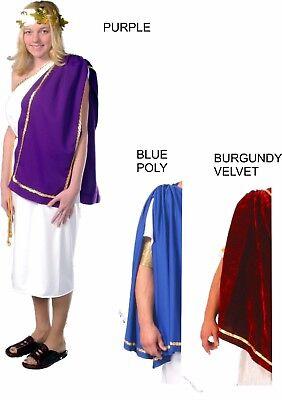Roman Toga Adult Ladies ONE SIZE Greek Julius Toga Costume Halloween CO2