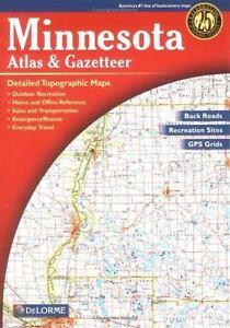 Delorme Atlas and Gazetteer: Minnesota Atlas and Gazetteer (2003, Map, Other)