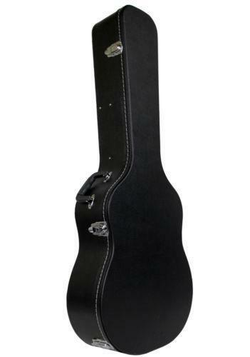 acoustic guitar case dreadnought hardshell ebay. Black Bedroom Furniture Sets. Home Design Ideas