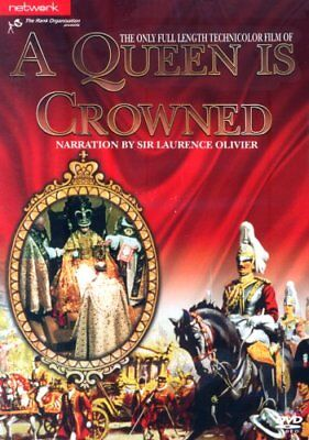 A Queen Is Crowned : Narration by Laurence Olivier (DVD)