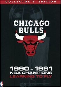 Chicago Bulls 1990-1991 Learning to Fly Collector's Edition 6dvd boxset NEW NBA