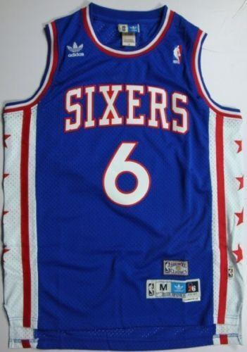 Julius Erving Jersey Basketball Nba Ebay
