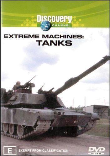 Extreme Machines - Tanks (DVD, 2003) - Region 4