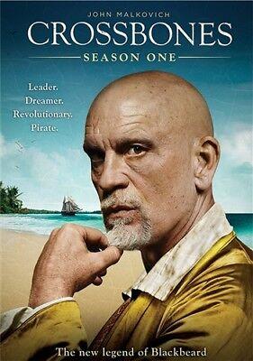 Crossbones Season 1 New Sealed 2 Dvd Set Complete Series John Malkovich
