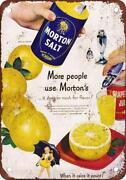 Morton Salt Sign