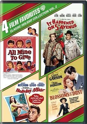 4 FILM FAVORITES CLASSIC HOLIDAY COLLECTION VOLUME 2 New DVD