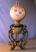 Antique Banquet Oil Lamp