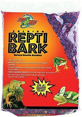 Bark Reptile Bedding (Zoo Med Reptile Bark Fir Bedding, 4 Quarts )