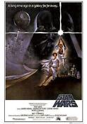 Vintage Star Wars Movie Poster