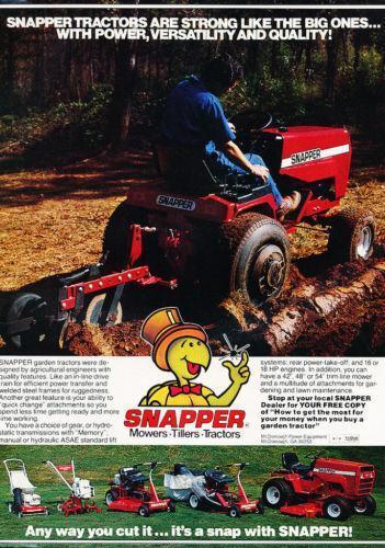 vintage snapper  yard  garden  u0026 outdoor living