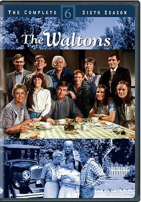 THE WALTONS COMPLETE SEASON 6 Sealed New 5 DVD Set
