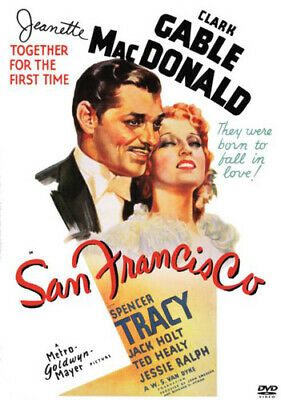 1936 Clark Gable (San Francisco (1936 Clark Gable) DVD NEW)