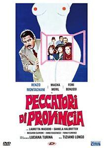 Dvd PECCATORI DI PROVINCIA - (1976) *** Renzo Montagnani *** ......NUOVO - Italia - L'oggetto può essere restituito - Italia