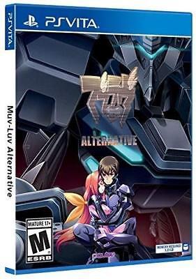 Muv-Luv Alternative Playstation Vita BRAND NEW (2018)