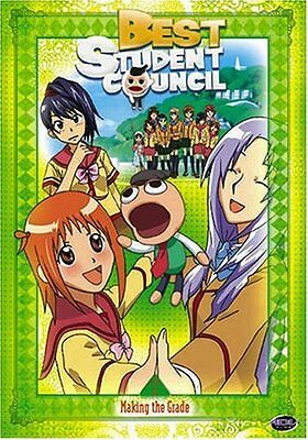 Best Student Council: Volume 2 - Making the Grade (DVD) anime Episodes 6-10 (The Best Comedy Anime)